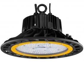 AdLuminis SMD LED Hallenstrahler 100W 14.500 Lumen UFO High Bay schwarz dimmbar